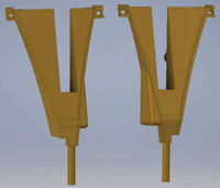 Aldon Rerailer Pair Left & Right HO Scale Cal Scale