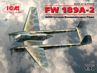 WWII German Fw 189A-2 Recon Aircraft 1/72 ICM Models