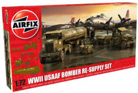 WWII USAAF Bomber Re-Supply Set 1/72 Airfix