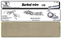 Brass Barbed Wire (Photo-Etch) 1/35 Royal Model