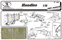 Handles, various types (Photo-Etch) 1/35 Royal Model