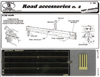 Road Accessories #2 Guard Rails (Photo-Etch/Resin) 1/35 Royal Model