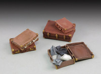 Assorted Suitcases (5) (Resin) 1/35 Royal Model