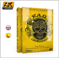 FAQ Dioramas Complete Guide Book for Building Detailed Dioramas (560 pages) AK Interactive