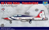 USAF T-38A Talon Thunderbird Jet Trainer 1/48 Trumpeter