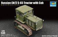 Russian ChTZ S-65 Tractor w/Closed Cab 1/72 Trumpeter