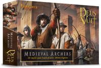 Deus Vult Medieval Archers (24) 28mm Fireforge Games