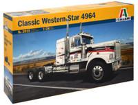 Classic Western Star 4964 US Cab Tractor 1/24 Italeri