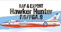 Hawker Hunter F.6/FGA.9 RAF & Export Jet Fighter 1/48 Academy