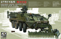 Stryker M1132 (ESV) Engineer Support Vehicle w/Surface Mine Plow 1/35 AFV Club