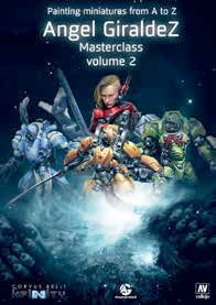 Painting Miniatures from A to Z Masterclass Vol.2 Manual Book by Vallejo