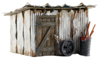 Built-N-Ready Tin Shack N Scale Woodland Scenics