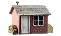 Built-N-Ready Work Shed N Scale Woodland Scenics