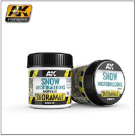 Diorama Series: Snow Microballoons Powder Texture Acrylic 100ml Bottle AK Interactive
