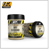 Diorama Series: Terrains Dry Ground Texture Acrylic 250ml Bottle AK Interactive