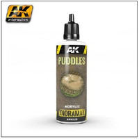 Diorama Series: Puddles Effects Liquid Crystalline Acrylic 60ml Bottle AK Interactive