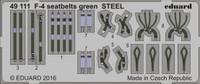 Seatbelts F-4 Green Steel (Painted) 1/48 Eduard