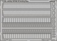 Whitley GR Mk VII Landing Flaps for ARX 1/72 Eduard