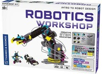 Robotics Workshop Intro to Robot Design Creative STEM Experiment Kit Thames & Kosmos