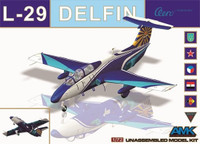 Aero L-29 Delfin Aircraft 1/72 AMK Model Kits