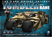 Batman The Dark Knight Trilogy: Batmobile Tumbler w/Bane Figure 1/25 Moebius
