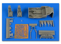 A-37B Dragonfly Cockpit Set For TSM 1/48 Aires