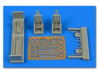 L-29 Delfin Ejection Late Seats For AGK 1/72 Aires