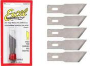 #19 Angled Edge Blades (5) Excel Tools