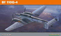 Bf 110G-4 Fighter (Profi-Pack Plastic Kit) 1/72 Eduard