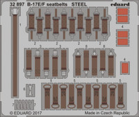 Seatbelts B-17E/F Steel for HKM (Painted) 1/32 Eduard