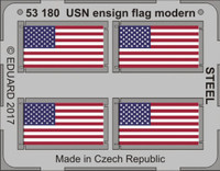 Modern USN Ensign Flag Steel (Painted) 1/350 Eduard