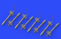 FFAR Rockets (Resin) 1/72 Eduard