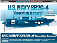 SB2C-4 Operation Iceberg USN Bomber (Special Edition) 1/72 Academy