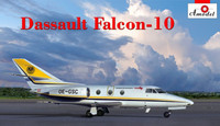 Dassault Falcon 10 Early Corporate Jet Aircraft 1/72 A-Model