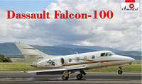Dassault Falcon 100 Corporate Jet Aircraft 1/72 A-Model