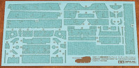 Elefant Zimmerit Coating Sheet 1/48 Tamiya