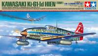 Kawasaki Ki-61-Id Hien (Tony) Fighter 1/48 Tamiya