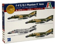 F-4C/D/J Phantom II Aces USAF/USN Vietnam Fighter 1/72 Italeri