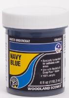 Water Undercoat - Navy Blue (4 fl.oz.) Woodland Scenics