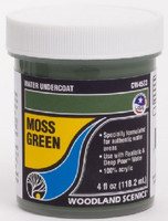 Water Undercoat - Moss Green (4 fl.oz.) Woodland Scenics
