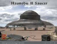 Haunebu II German WWII UFO Saucer 1/144 Pegasus