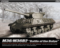 M36/M36B2 US Army Tank Destroyer Battle of Bulge 1/35 Academy