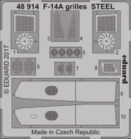 F-14A Grilles Steel for TAM 1/48 Eduard