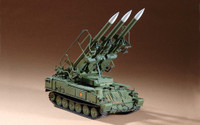 Russian SAM6 Anti-Aircraft Missile 1/72 Trumpeter