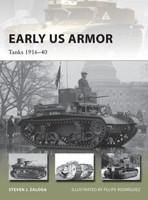 Vanguard: Early US Armor Tanks 1916-40 Osprey Publishing