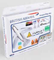 British Airways B787 Die Cast Playset (12pc Set) Realtoy International