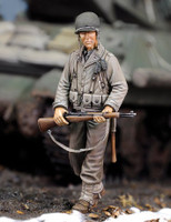 WWII US Infantry Rifleman w/Rifle (Resin) 1/35 Royal Model