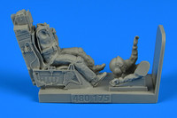 F-16 USAF Fighter Pilot w/Ejection Seat for ACY, HSG, KIN & TAM 1/48 Aerobonus