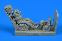 F/A-18E/F USN Fighter/Attack Pilot w/Ejection Seat for HSG & RVL 1/48 Aerobonus