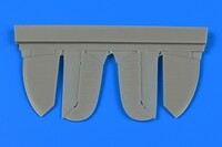 Spitfire Mk IX (Early) Control Surfaces For EDU (Resin) 1/72 Aires Hobby